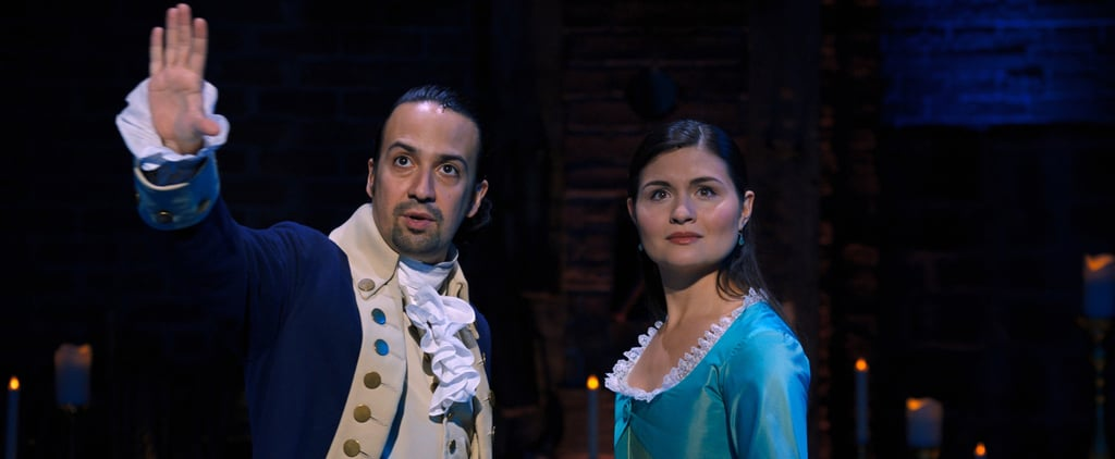 What Does Eliza See and Gasp at During the End of Hamilton?
