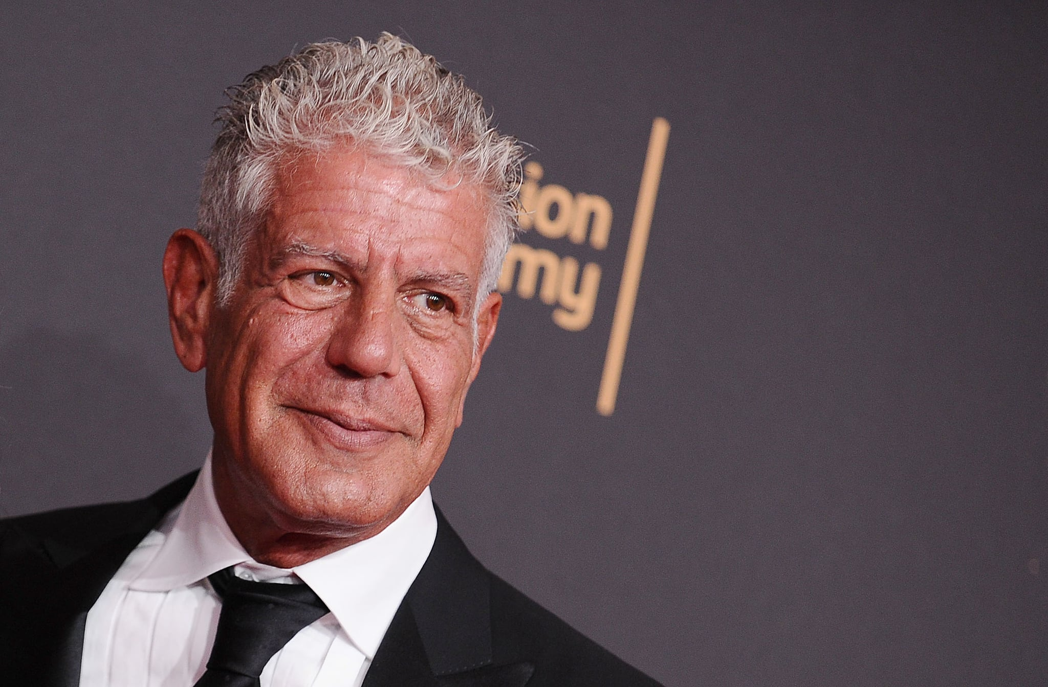 LOS ANGELES, CA - SEPTEMBER 09:  Anthony Bourdain attends the 2017 Creative Arts Emmy Awards at Microsoft Theater on September 9, 2017 in Los Angeles, California.  (Photo by Jason LaVeris/FilmMagic)