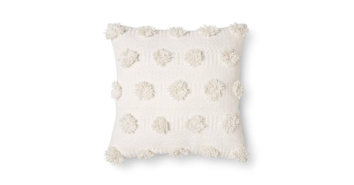 Nate Berkus Pom Dot Square Throw Pillow Cheap Living