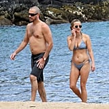 Bikini-clad Reese Witherspoon with shirtless Jim Toth.