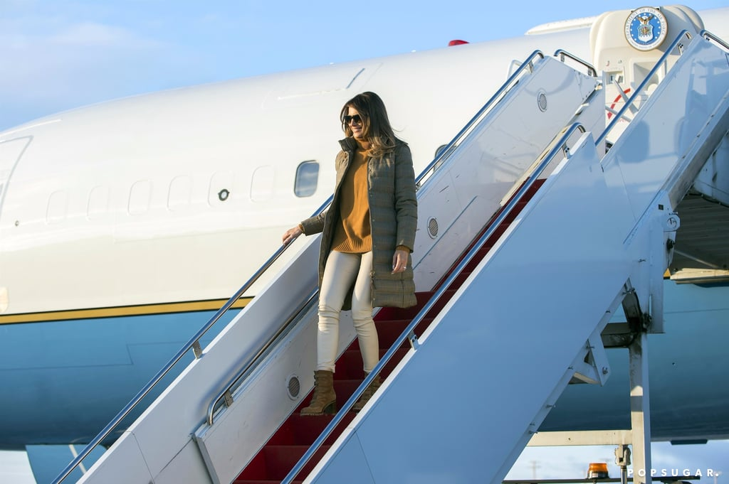 Melania Trump's $2,690 Puffer Coat Is Not Your Average Down Jacket