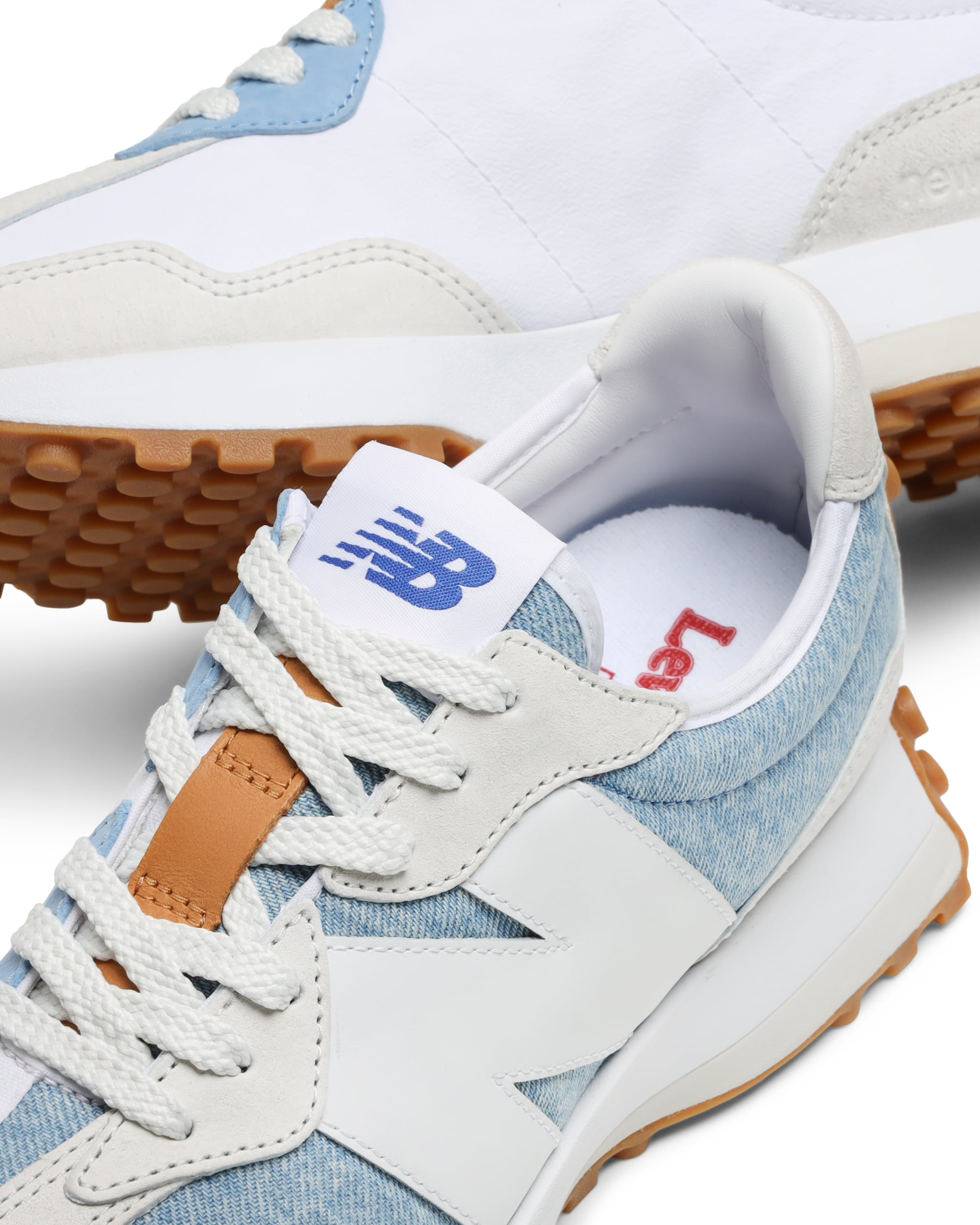 New Balance and Levi's Denim Sneakers