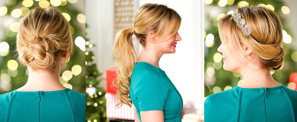 Say Yes to 5-Minute Hairstyles For the Holidays!