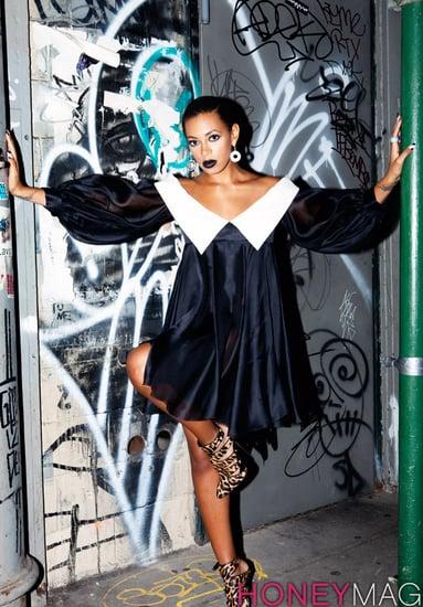 Solange Knowles does Honey magazine