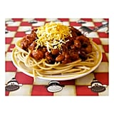 Four Bean Chili Spaghetti