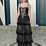 Rachel Brosnahan at the Vanity Fair Oscars Afterparty 2020