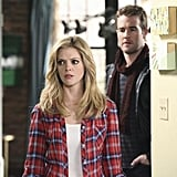 Dreama Walker and James Van Der Beek in Don't Trust the B---- In Apartment 23. Photos copyright 2012 ABC, Inc.