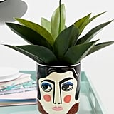 Kitsch Kitchen Mrs. Edelmann Ceramic Planter