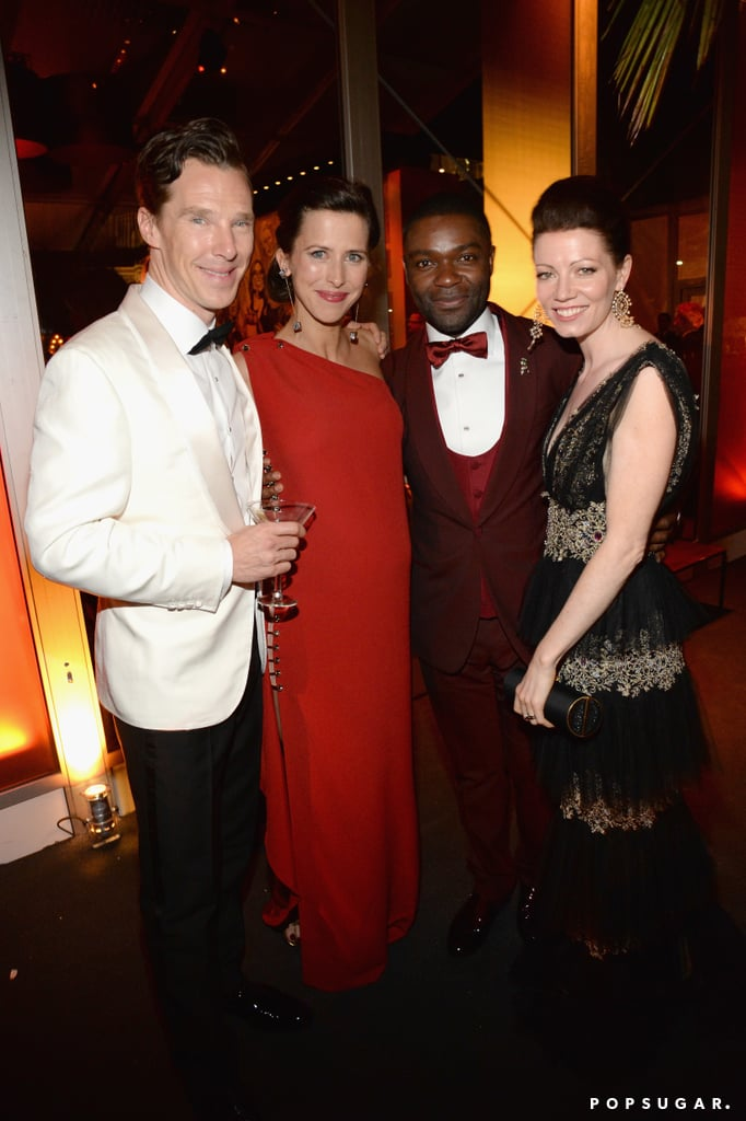 Benedict Cumberbatch, Sophie Hunter, and David and Jessica Oyelowo