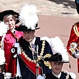 Prince Andrew, Prince William, and Prince Edward