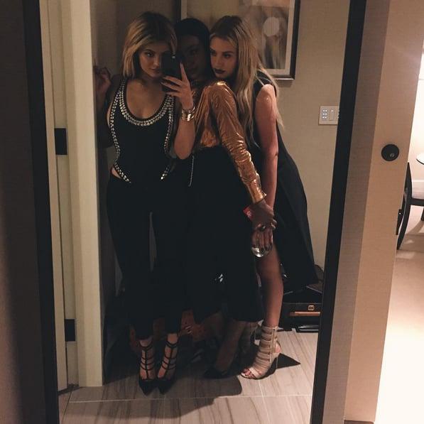 Kylie Jenner Hip Cutout Trend