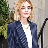 Lucy Hale's Blond Hair Color