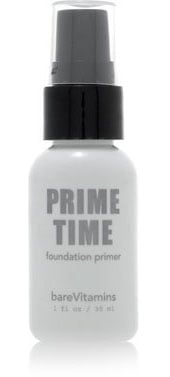 Review of Bare Escentuals BareVitamins Prime Time Foundation Primer
