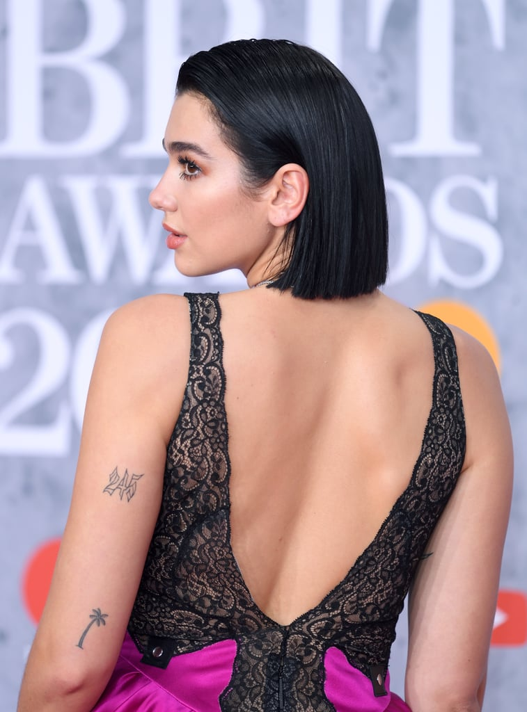 """Dua Lipa's """"245"""" Tattoo"""