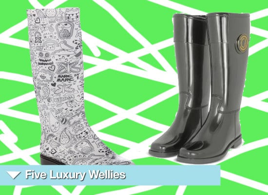 Luxury Wellington Boots for the Summer 2010 Festival Season