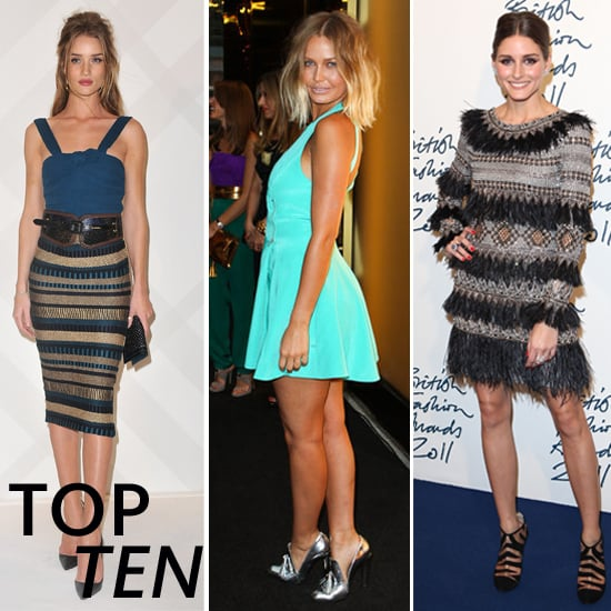 Top Ten Best Dressed Celebrities of the Week including Miranda Kerr, Alessandra Ambrosio, Alexa Chung, Olivia Palermo & More!