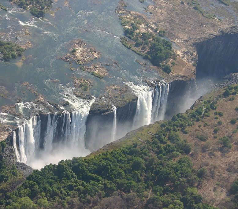 Victoria Falls, Zambia and Zimbabwe Border