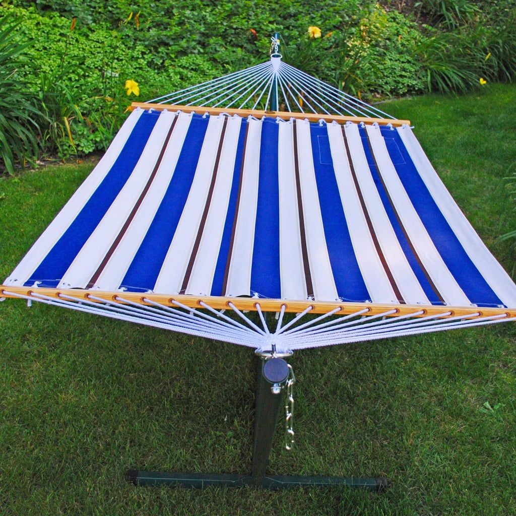 Algoma Fabric Hammock And Stand Set The Best Patio Bbq Items At