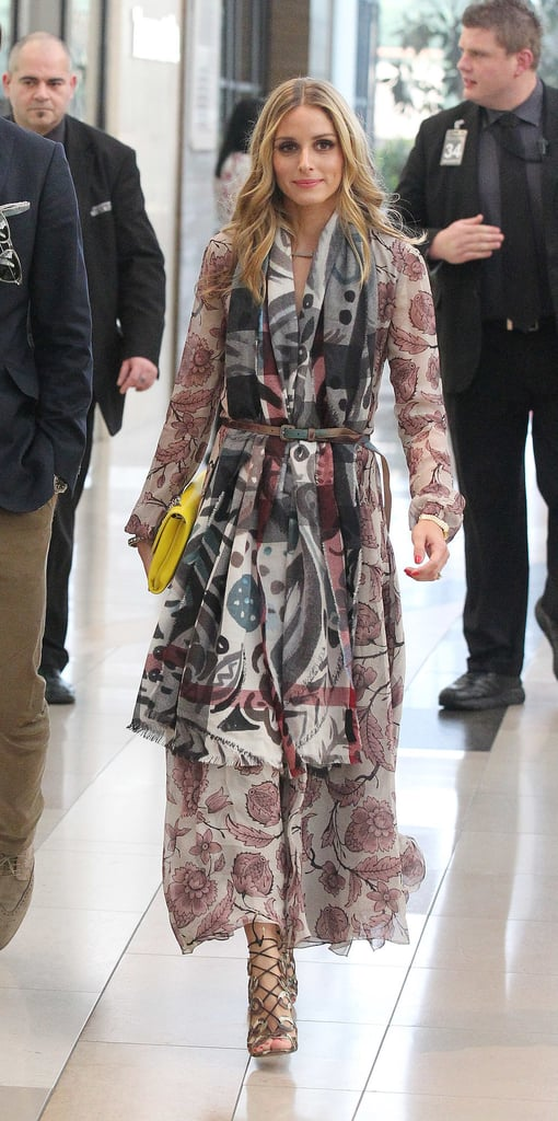Olivia Palermo Wearing Burberry Fall 2014