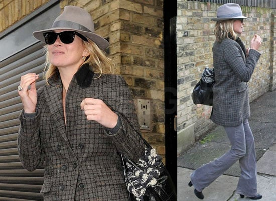 Photos of Kate Moss and Jamie Hince Heading Out of London for the Weekend