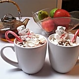 Create a hot chocolate bar and let them pick out their favorite fun toppings.