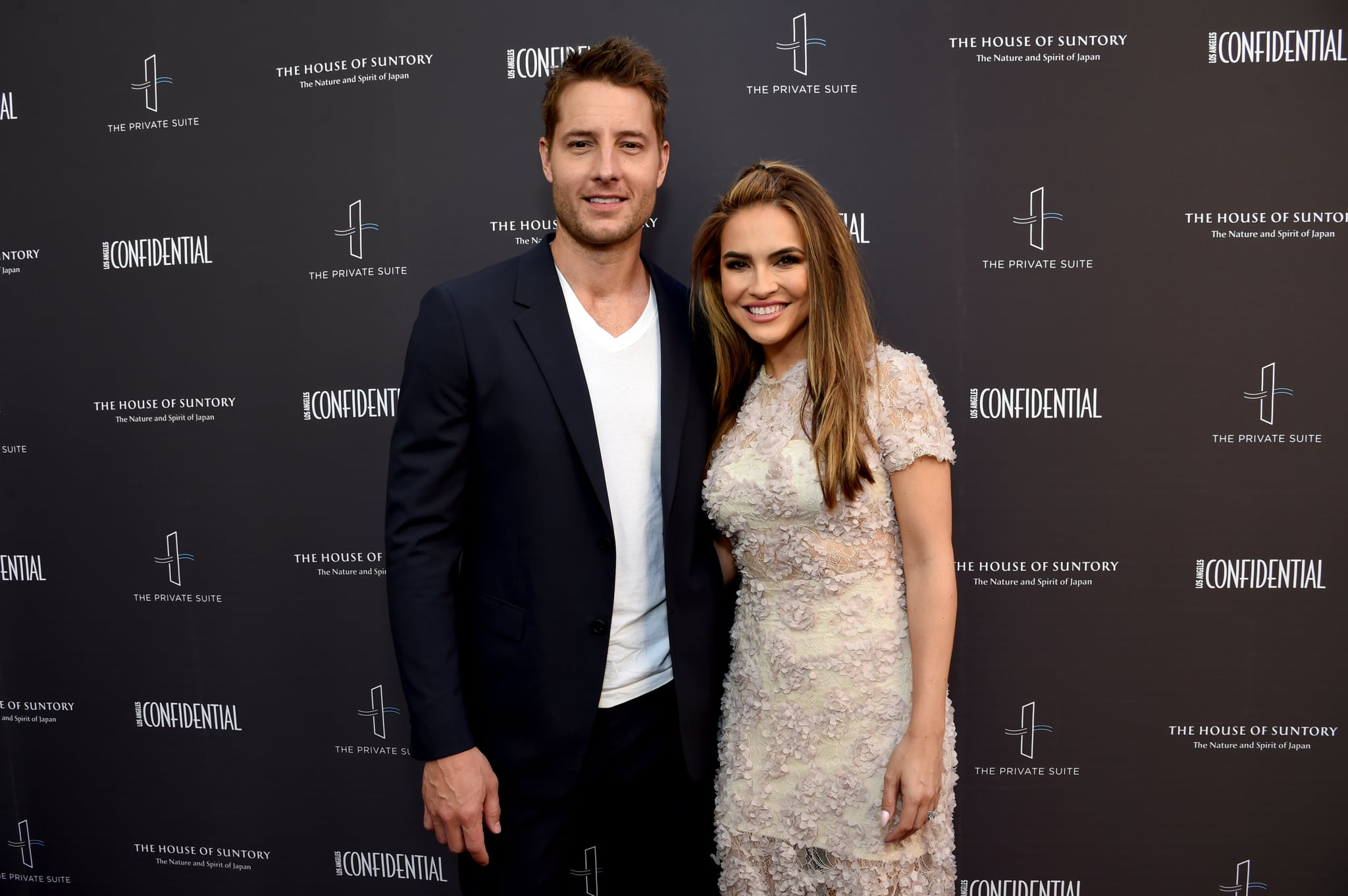 LOS ANGELES, CALIFORNIA - JUNE 09: Justin Hartley and Chrishell Hartley attend the Los Angeles Confidential Impact Awards at The LINE Hotel on June 09, 2019 in Los Angeles, California. (Photo by Michael Kovac/Getty Images for Los Angeles Confidential)