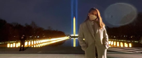 Chrissy Teigen Says Goodbye to Trump in the Best Way