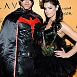 Ashley Greene and Kellan Lutz showed their dark sides at a Vegas Halloween party in 2009.