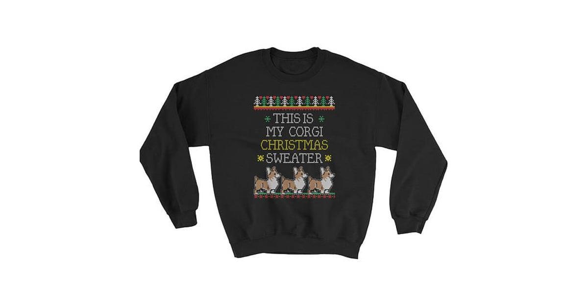 this is my corgi sweater royal family christmas sweaters popsugar fashion photo 2