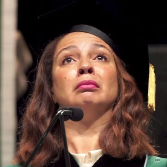 Maya Rudolph Singing the National Anthem at Commencement
