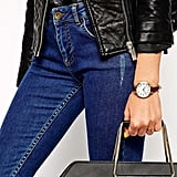 Asos Large Face Slim Strap Watch, $35