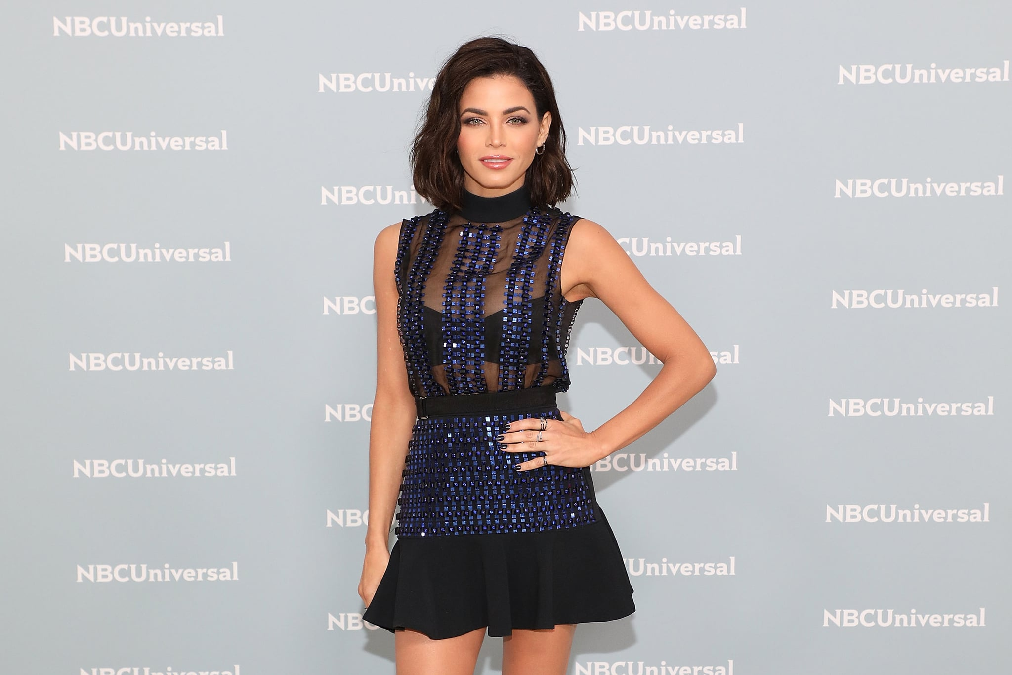 NEW YORK, NY - MAY 14:  Jenna Dewan attends the 2018 NBCUniversal Upfront Presentation at Rockefeller Centre on May 14, 2018 in New York City.  (Photo by Taylor Hill/FilmMagic)