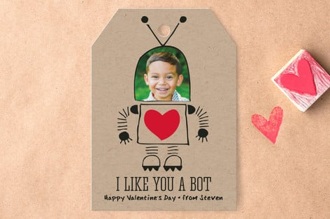Personalized Valentine S Day Cards And Stickers Valentine S Day
