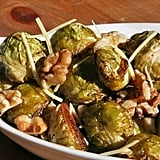Roasted Brussels Sprouts With Walnuts