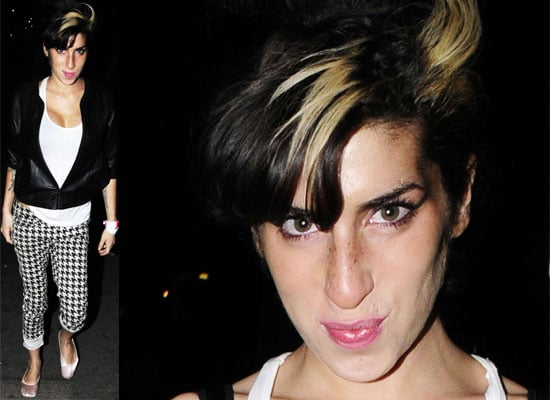 Pictures of Amy Winehouse Out In London, Amy Winehouse Reveals Strictly Come Dancing's Bruce Forsyth Gave Her Nightmares