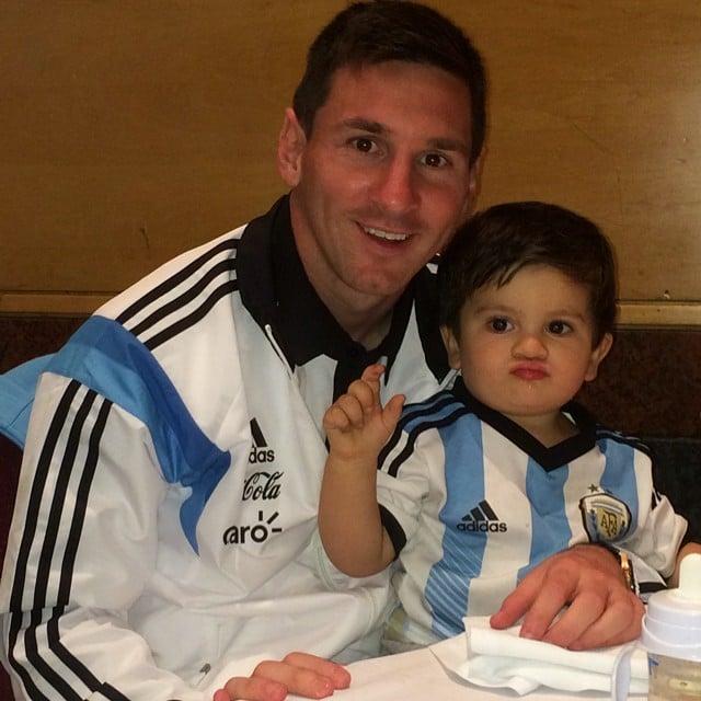 Lionel Messi —Argentina