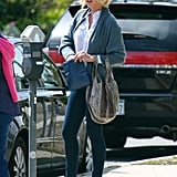 Katherine Heigl fed the parking meter.