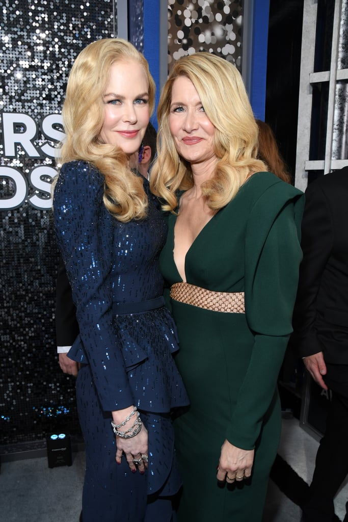 Nicole Kidman and Laura Dern at the 2020 SAG Awards