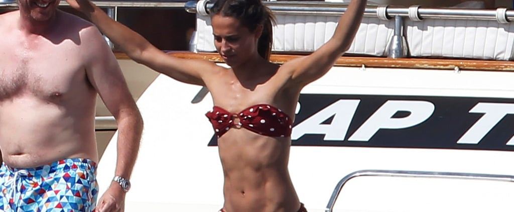 Alicia Vikander's Trainer Tells Us Exactly How She Earned Her Tomb Raider Washboard Abs