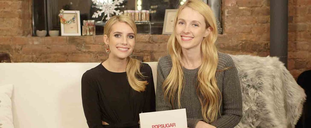 Emma Roberts Makes a Major Hair Confession