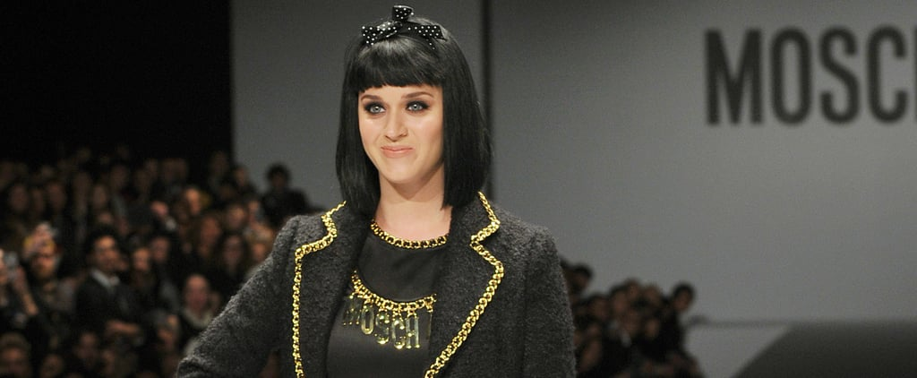 Katy Perry Takes the Milan Catwalks by Storm