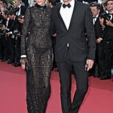Anja Rubik in Emilio Pucci with Peter Dundas