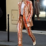 Gigi Hadid at Paris Fashion Week 2020