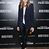 Dressed in nearly head-to-toe Zara, Olivia hit the red carpet for a film screening in NYC and, again, proved her expertise in high-low styling.