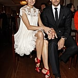 Olivia and Johannes were sitting pretty in Hamburg, Germany, when they were named couple of the year.