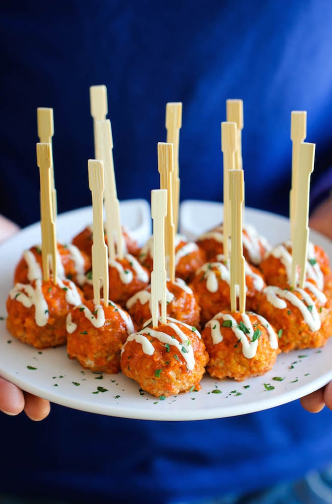 Slow Cooker Buffalo Chicken Meatballs Finger Food Recipes