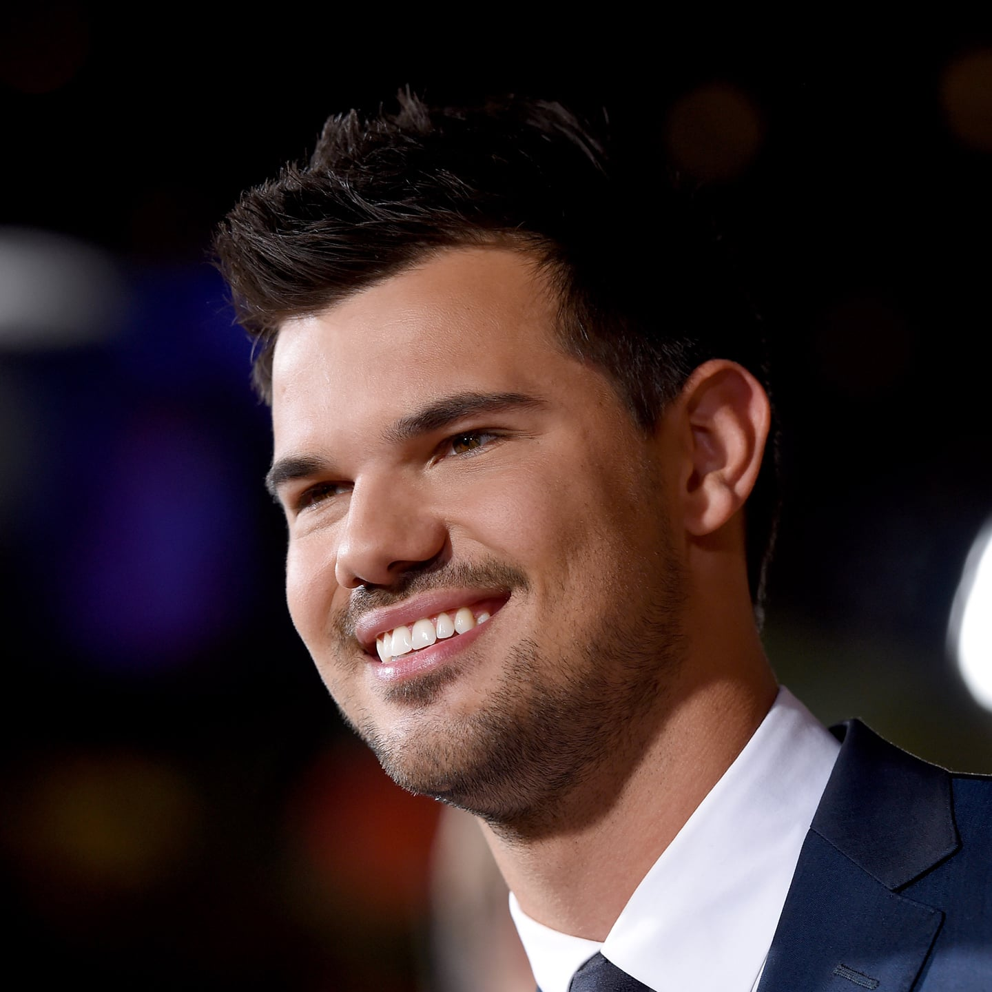 Taylor Lautner With Lavender Hair Fall 2016 Popsugar Beauty