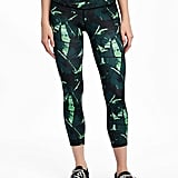 Old Navy Go-Dry Compression Run Crops
