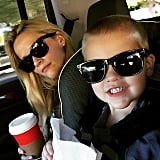"""""""Wish all of you families traveling around the country this weekend .. Safe travels! Off we go!! #TravelingWithToddler."""""""
