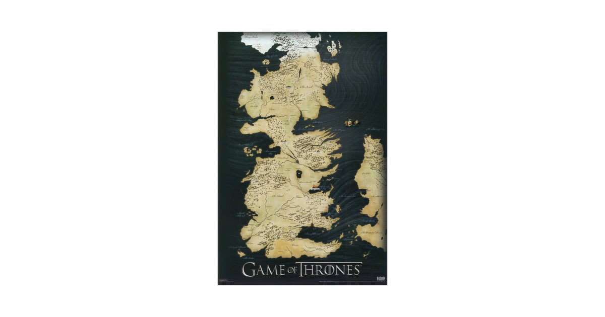 Game of Thrones Map Print | Cool Gifts For Teens | POPSUGAR ... Game Of Thrones Map Print on neverland map print, gravity falls map print, map of arizona to print, barbie coloring pages to print, map of germany to print, westeros map print, great lakes map print, united states map print, bonanza map print,